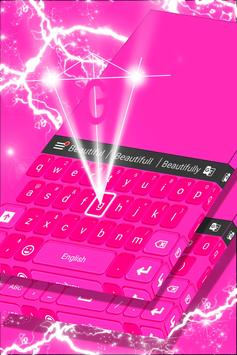 Pink Keyboard Personalization screenshot 3