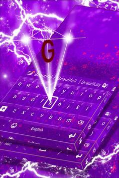 Pink Purple Keyboard screenshot 3