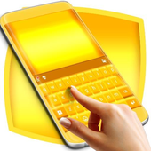 Pure Gold Keyboard icon
