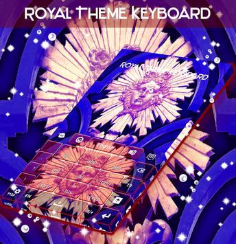 Royal Theme Keyboard apk screenshot