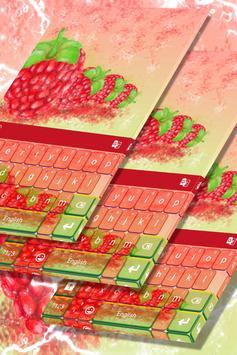 Raspberry Keyboard poster