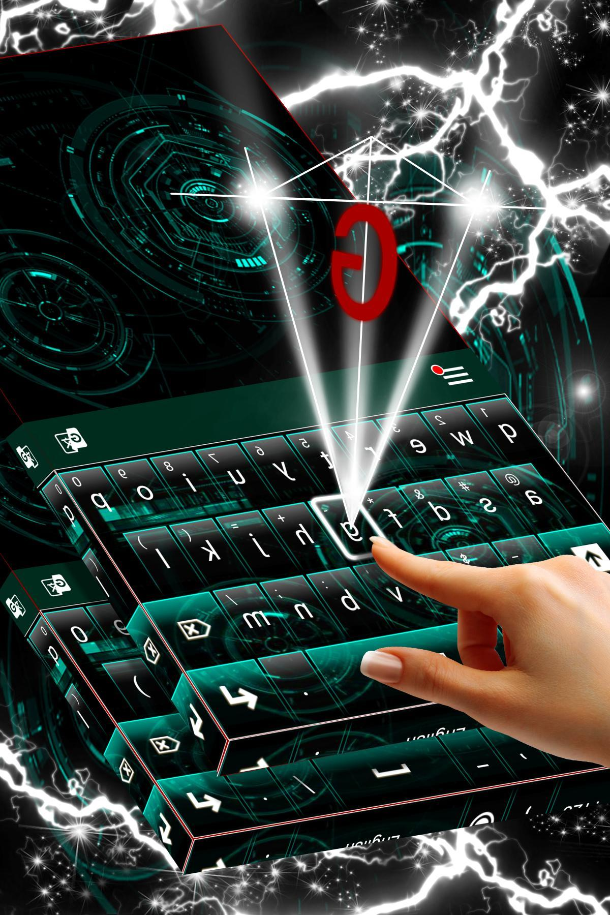 Techno Dark Keyboard Theme for Android - APK Download