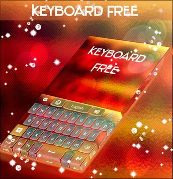 Blurred Keyboard Theme poster