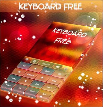 Blurred Keyboard Theme apk screenshot