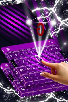 Violet Free Theme for Keyboard screenshot 1