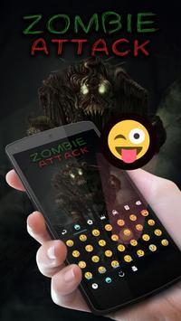 Zombie Attack Keyboard Theme apk screenshot