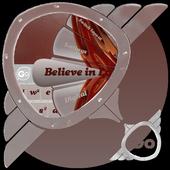 Believe in Love GO Keyboard icon
