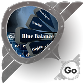 Blue Balance GO Keyboard icon