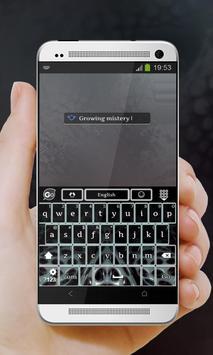 Growing Mistery GO Keyboard apk screenshot