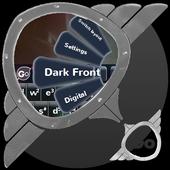 Dark Front GO Keyboard icon
