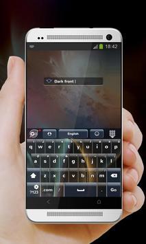 Dark Front GO Keyboard screenshot 8