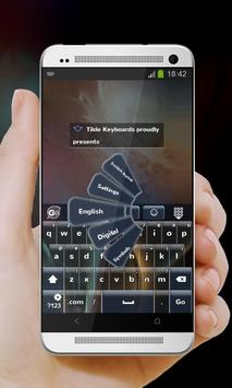 Dark Front GO Keyboard screenshot 1