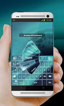 Dreamy GO Keyboard apk screenshot