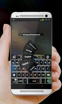 Energy GO Keyboard screenshot 2