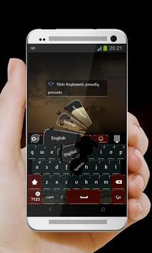 Mystery GO Keyboard apk screenshot