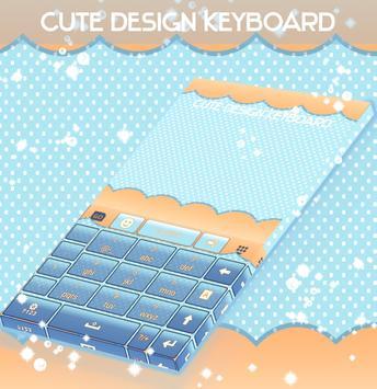 Cute Design Keyboard screenshot 4