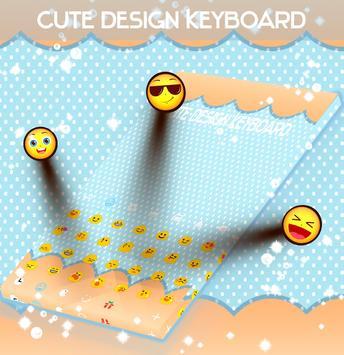 Cute Design Keyboard screenshot 1