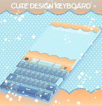 Cute Design Keyboard screenshot 3