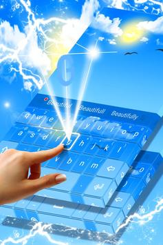 Blue Sky Theme apk screenshot