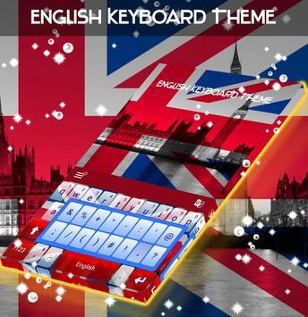 English Keyboard Theme apk screenshot