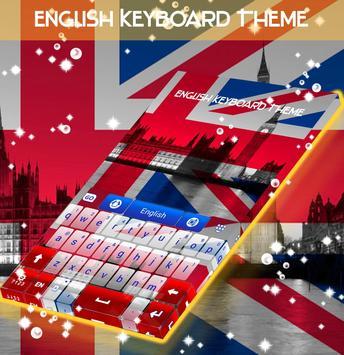 English Keyboard Theme poster