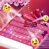 Free Pink Keyboard Theme icon