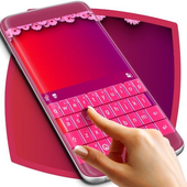 Free Pink Keyboard Theme icon