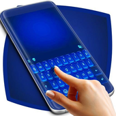 Vivid Blue Keyboard For Sony icon