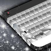 Metallic Keyboard icon