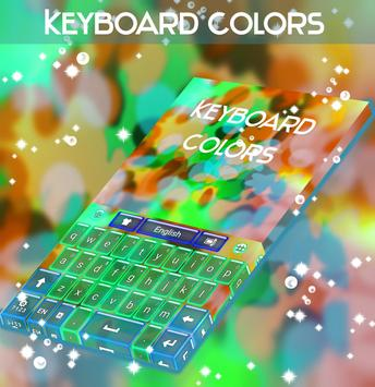 Colors Keyboard Theme poster