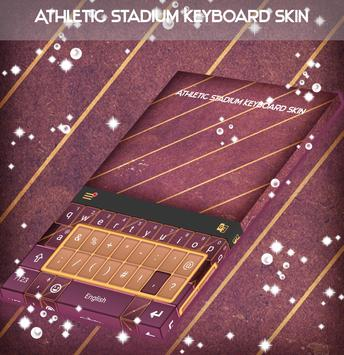 Athletic Stadium Keyboard Skin poster