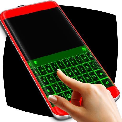 Matrix Animated Keyboard