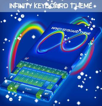 Infinity Keyboard Theme poster