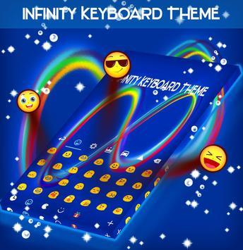 Infinity Keyboard Theme apk screenshot