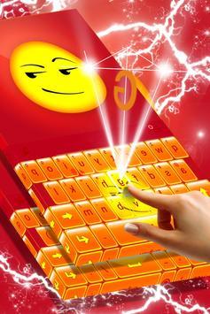 Naughty Emoji Keyboard Theme screenshot 1