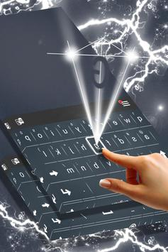 Simple Steel Keyboard Theme apk screenshot