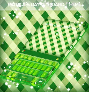 Patrick's Day Keyboard Theme poster