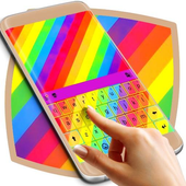 Rainbow Colors Keyboard Theme icon