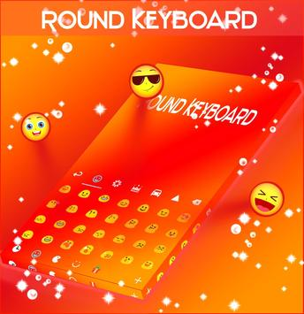 Round Keyboard screenshot 1