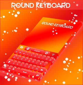 Round Keyboard apk screenshot