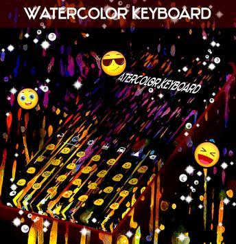 Watercolor Keyboard apk screenshot