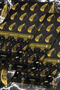 Yellow Keypad Theme poster