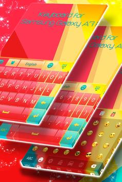 Keyboard for Samsung Galaxy A7 apk screenshot