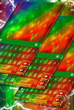 Multicolor Keyboard poster