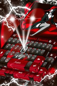 Red Passion Keyboard screenshot 3