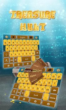Treasure Hunt Keyboard Theme poster