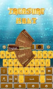 Treasure Hunt Keyboard Theme screenshot 1