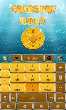 Treasure Hunt Keyboard Theme screenshot 2
