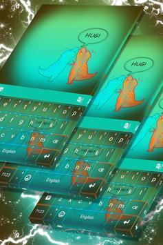T-Rex Hug Keyboard Theme screenshot 4