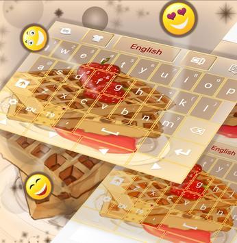 Waffles Keyboard apk screenshot